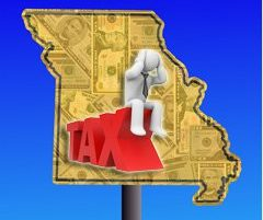 Missouri Map and Taxes